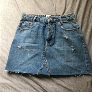 Urban Outfitters Denim Skirt Size Large